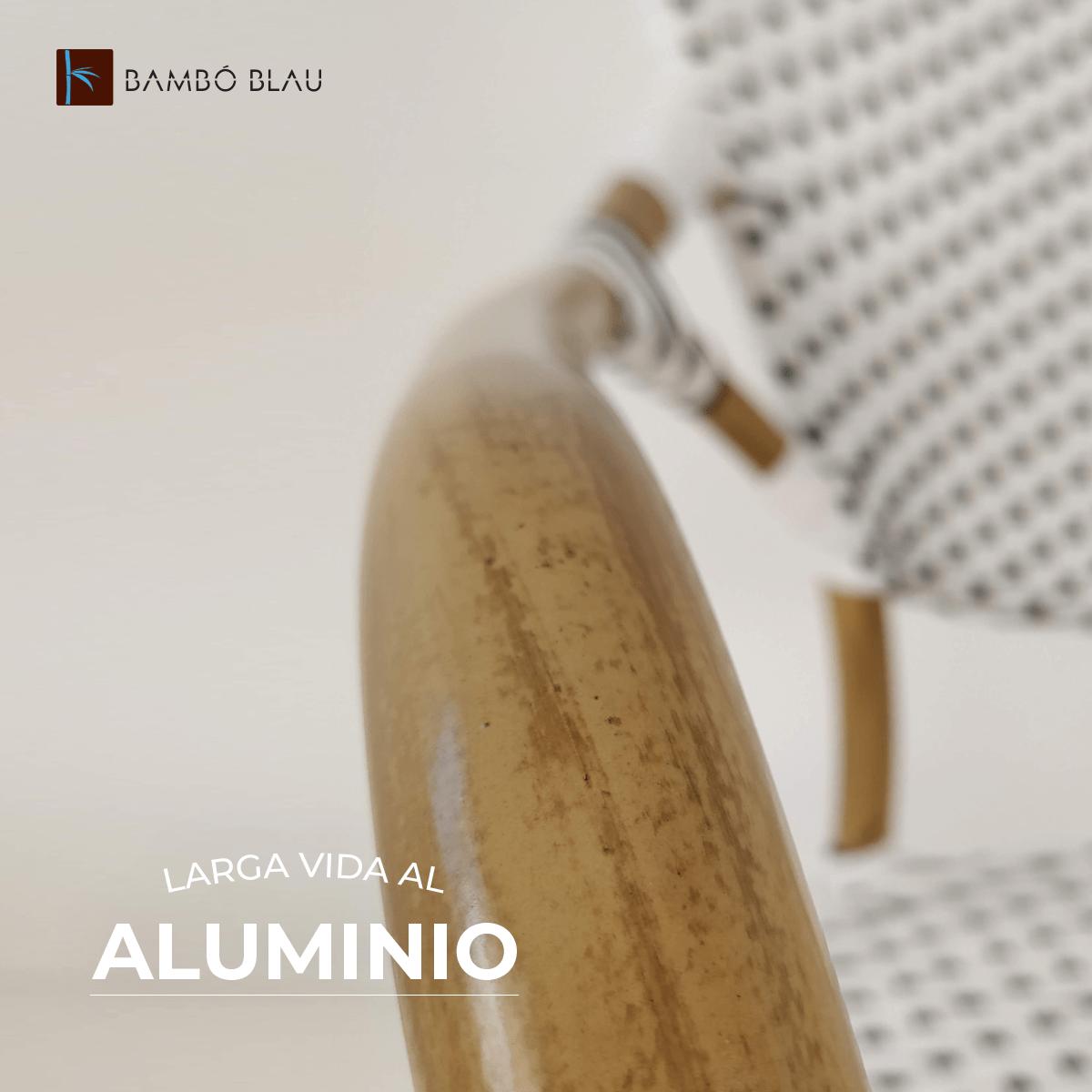 Bambó Blau Larga Vida al Aluminio