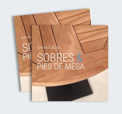 Catálogo Sobres & Pies de mesa