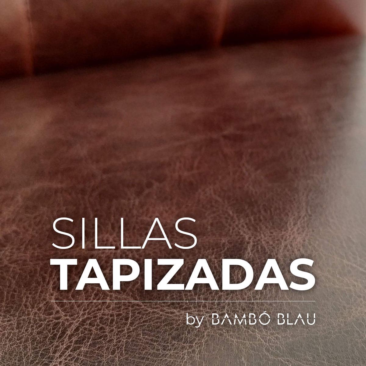 Sillas tapizadas by Bambó Blau