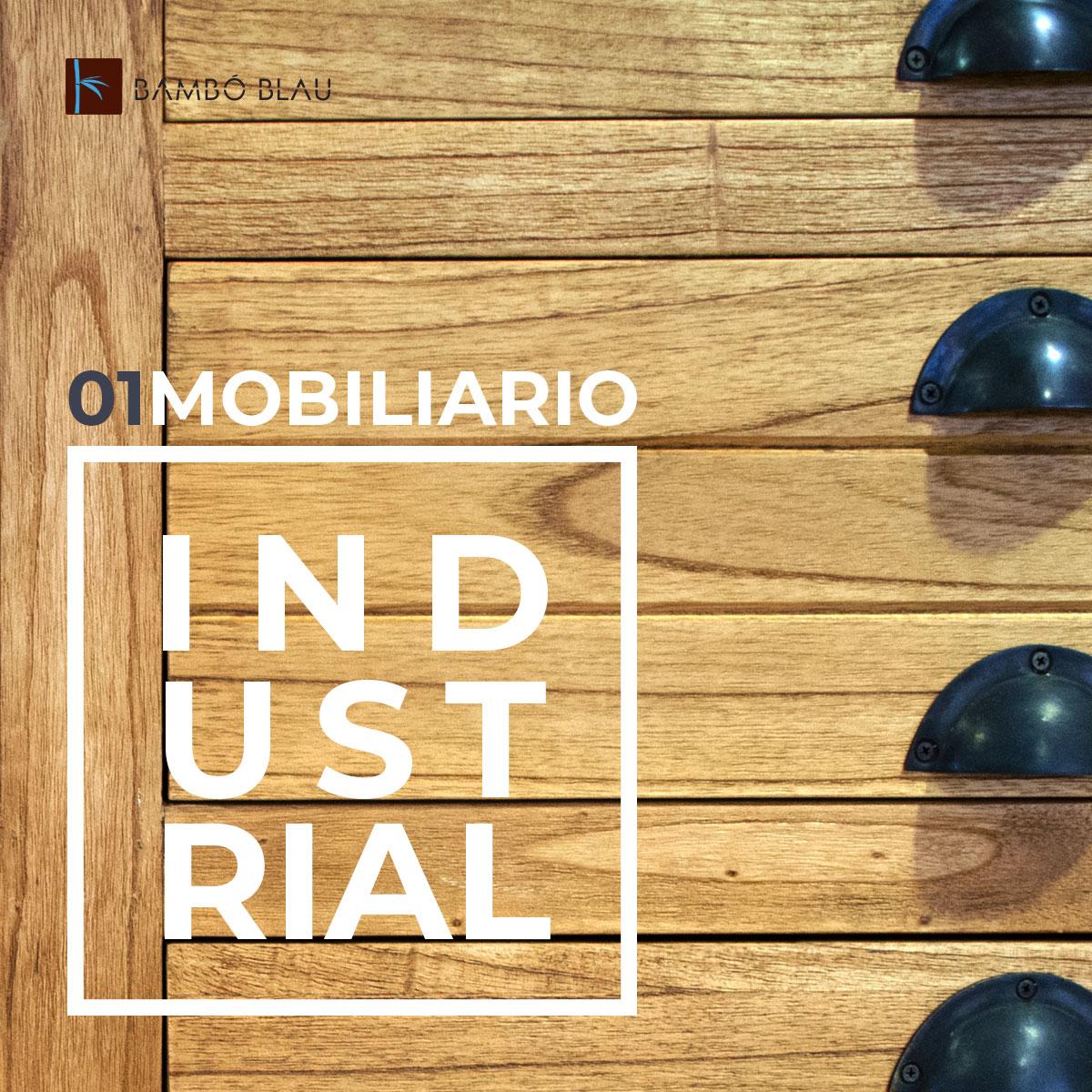 Estilo Industrial: mobiliario