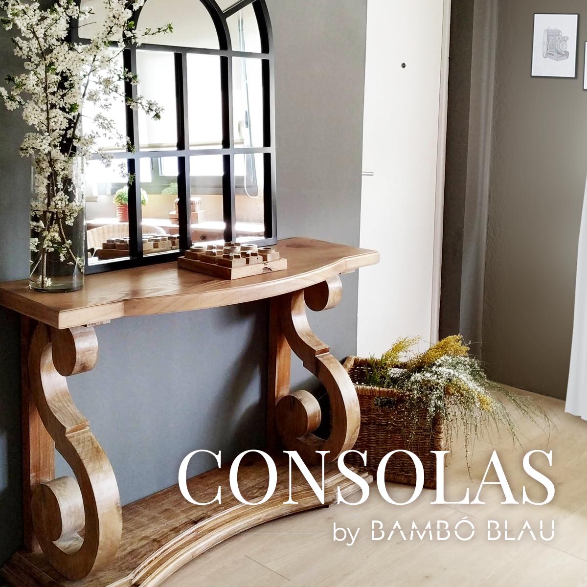 Consolas by Bambó Blau